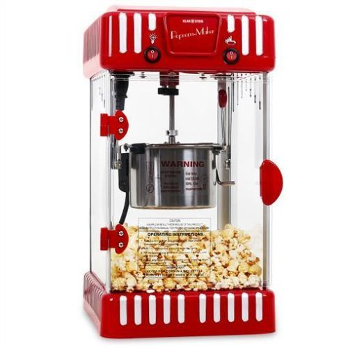 £75 ELECTRIC-RED-POPCORN-MAKER-MACHINE-60L-PER-HOUR-STAINLESS-STEEL-FREE-P-P-OFFER