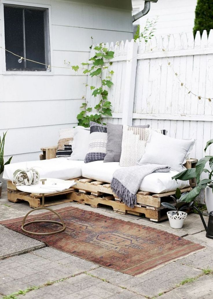 35 Exciting Diy Outdoor Pallet Furniture Ideas For Your Dream House Diys House Pallet