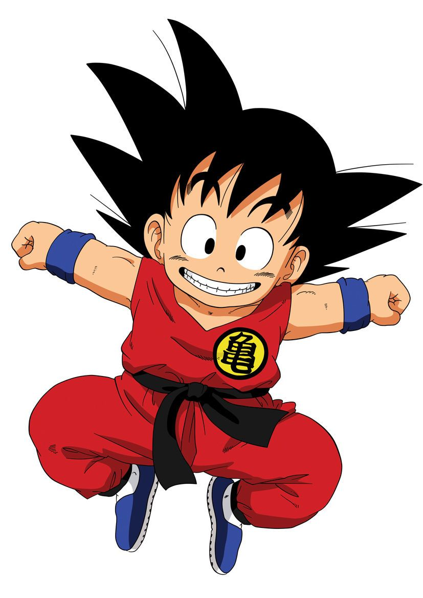 Sticker poster manga dragon ball enfant songoku - Sangoku dessin ...