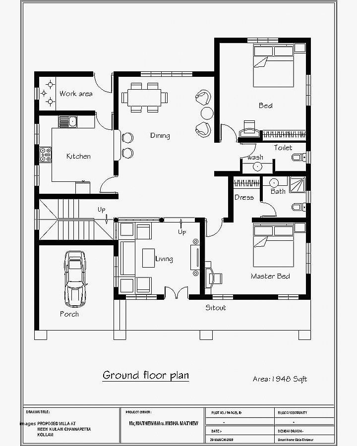 South Facing Home Plan Unique House Plan Awesome South Facing House Plans Per Vas Indian House Plans House Plans Bedroom House Plans