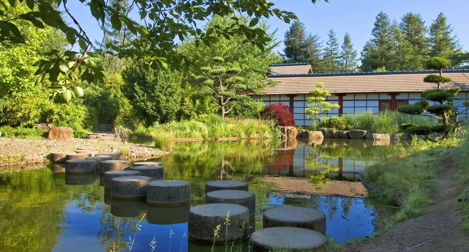 Nantes Le Jardin Japonais Sur L Ile De Versailles Jardin