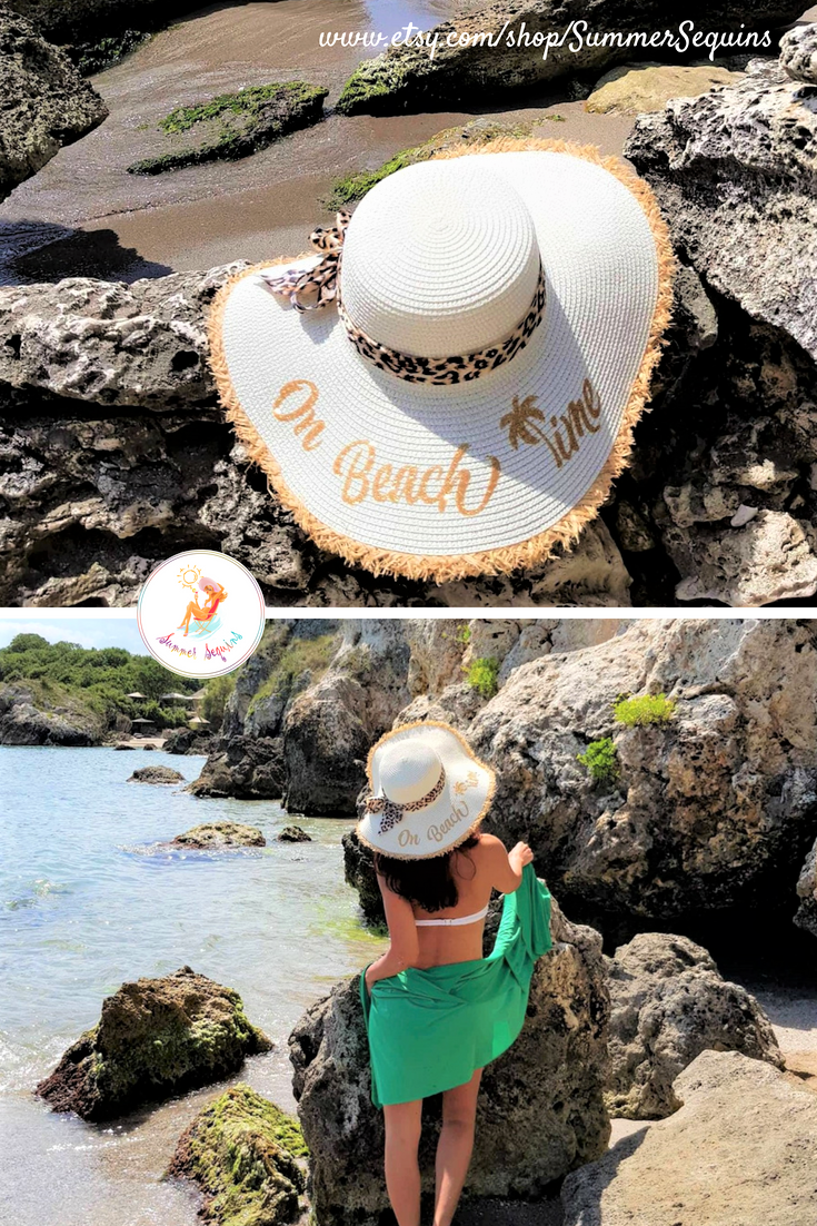 65882d57546 Set your clock to beach time! This light and stylish sun hat is the perfect