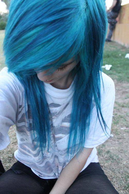 Gorgeous Turquoise Hair Colors Ideas Turquoise Hair Color Emo Hair Scene Hair