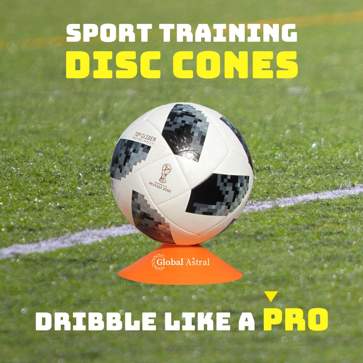 Dribble Like A Pro Soccer Training Equipment Soccer Training Soccer Drills