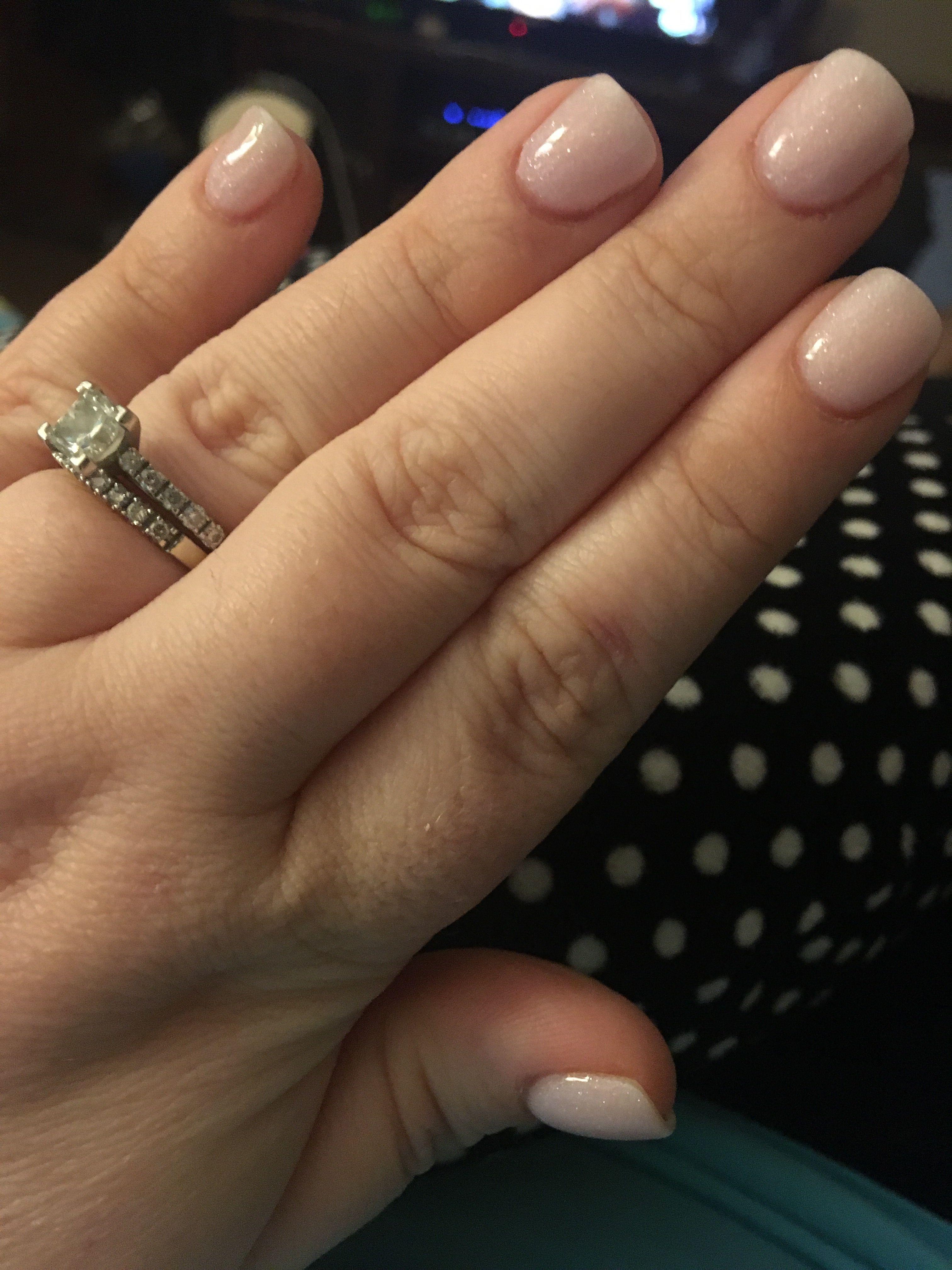 Blushing Bride Sns Powder At Icolor Nail Bar Belmont Nc Sns Nails Colors Nail Polish Sns Nails