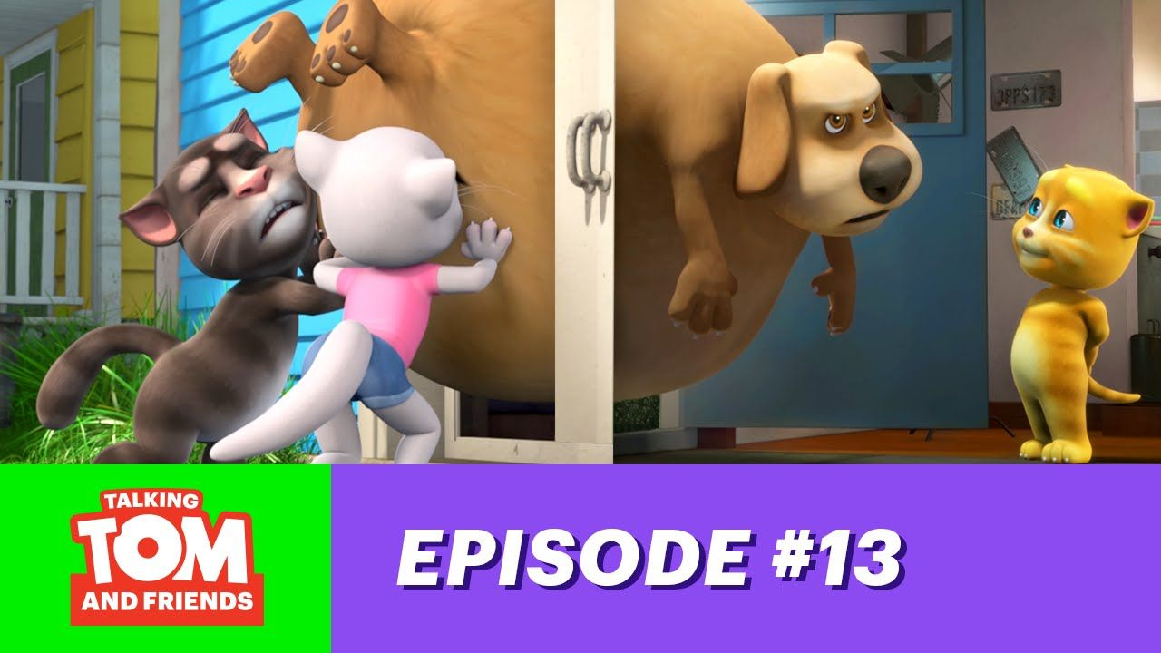 Talking Tom and Friends ep.13 Big Ben snack ideas