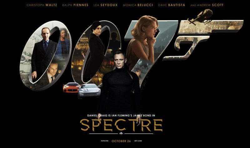 Spectre Posters Set 4 James Bond Best Bond James Bond Party