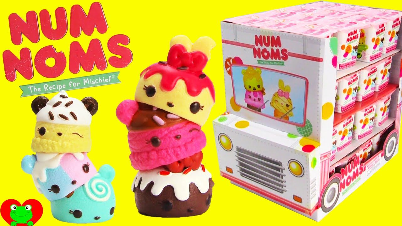 Num Noms Blind Box Full Case Opening With 5 Special