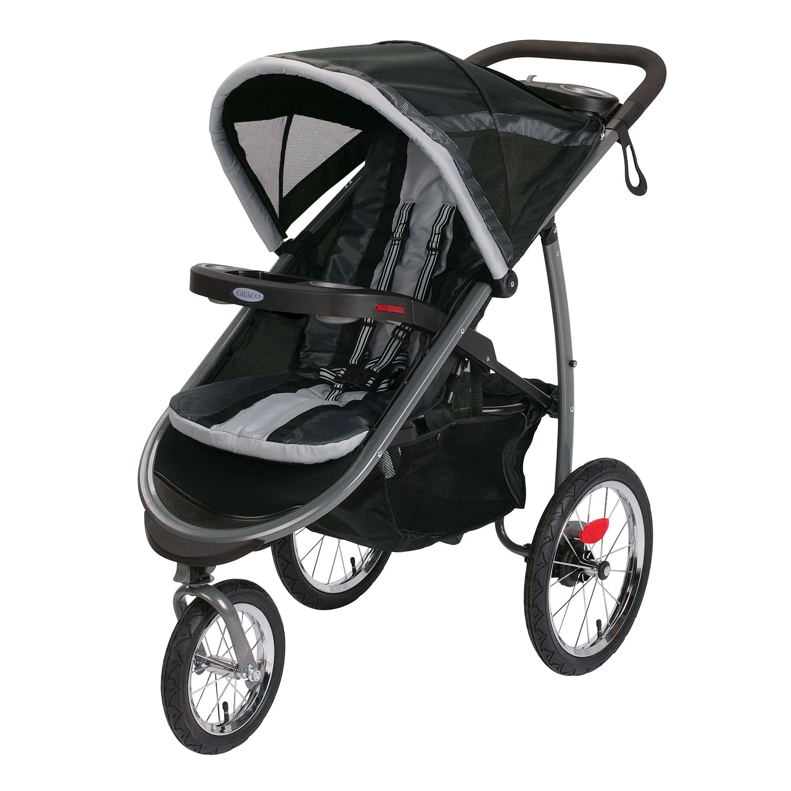 Graco FastAction Fold Jogger Stroller, Gotham (With images