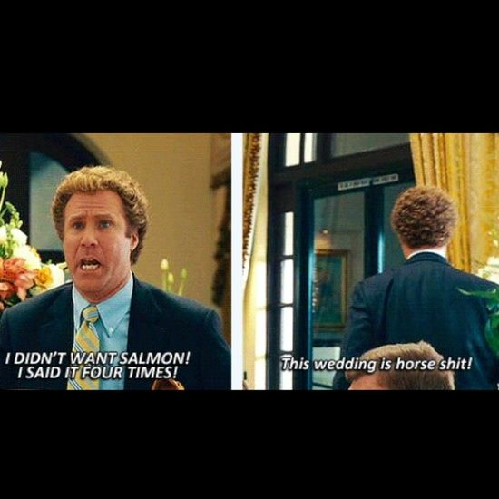 I Always Want To Say This At Weddings Stepbrothers