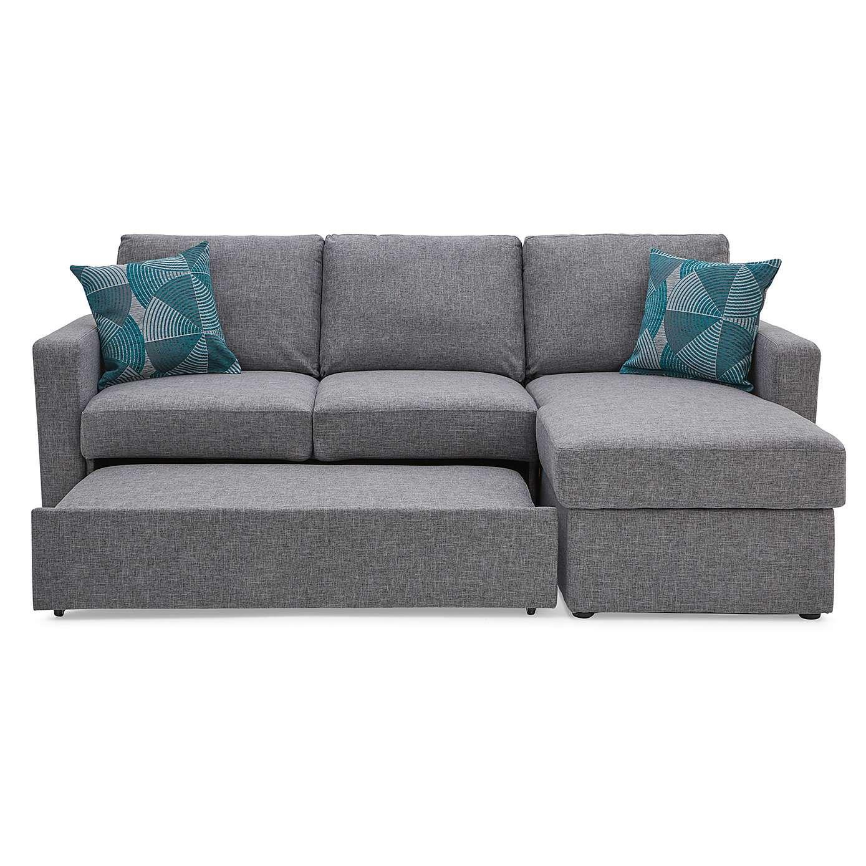 Sophia Fabric Corner Sofa Bed | Dunelm | Garage room in 2019 ...