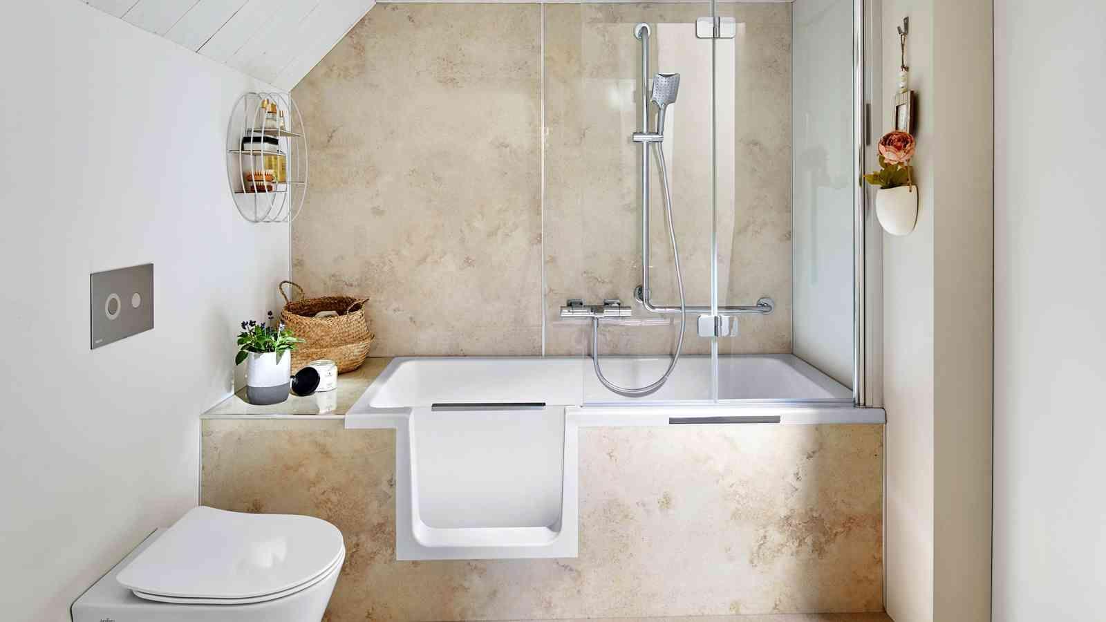 Ideen fürs Mini Bad Wie ihr ein kleines Badezimmer perfekt nutzt in 2020   Bad renovieren ...