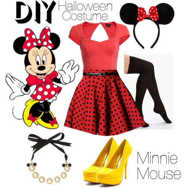 Homemade Minnie Mouse Costumes For Teenagers Minnie Mouse DIY Costu...