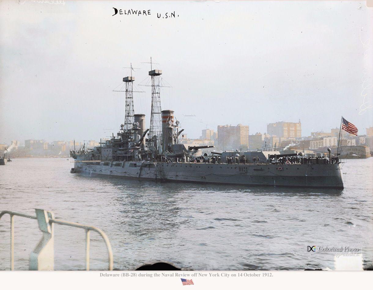 Боевые корабли в цвете 18601918 гг. (ч.2 США. United