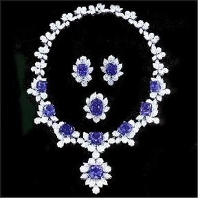 Tanzanite Jewellery Set Created By Prestige Manufacturer Ltd Hong Kong