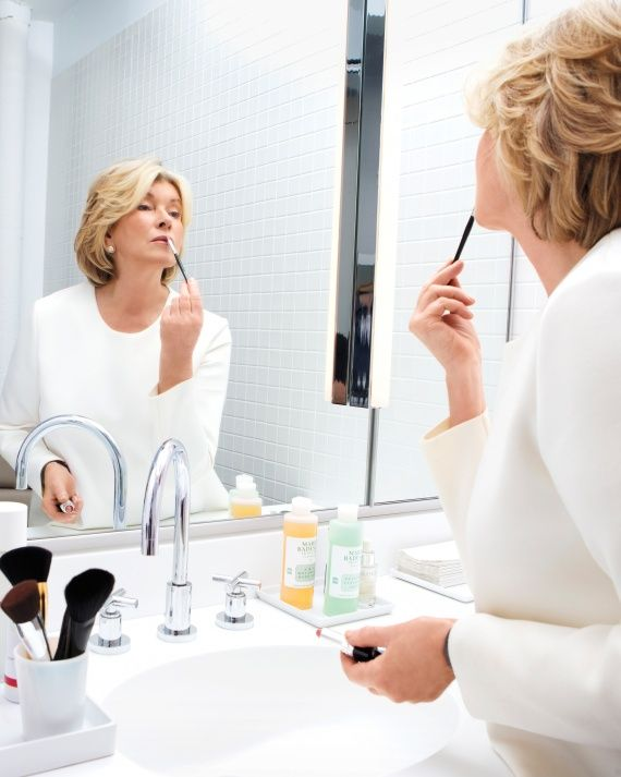 Refreshed Routines: Martha Tries 4 New Beauty Looks for Spring | Martha Stewart Home & Garden
