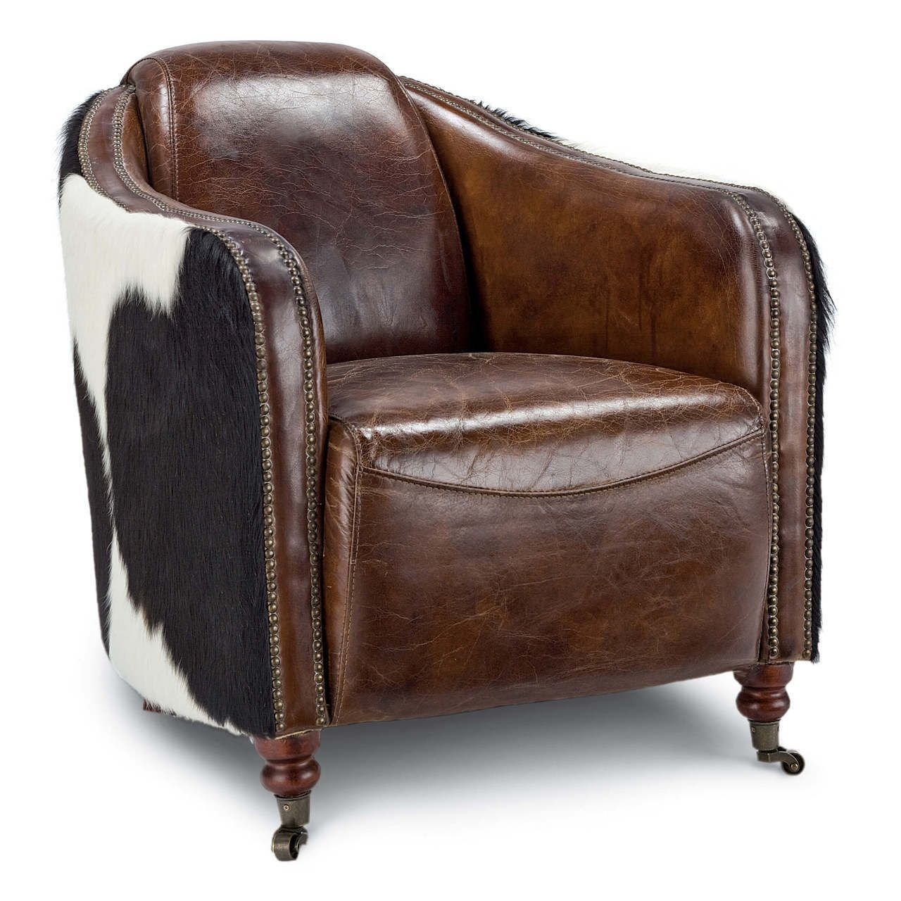 Leather Club Chair Hide By Regina Andrew Furniture In