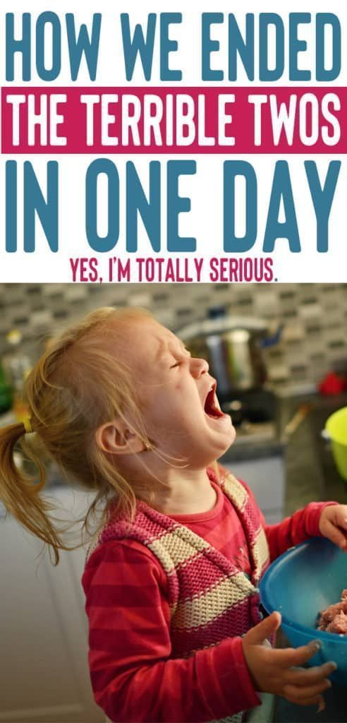 How We Cured The Terrible Twos in One Day #toddlers how to handle the terrible twos | dealing with toddler tantrums | parenting tips for preschoolers | toddler behavior problems #momlife #toddler #toddlerlife #kids #parenting