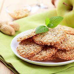 Gluten Free Sesame Cookies