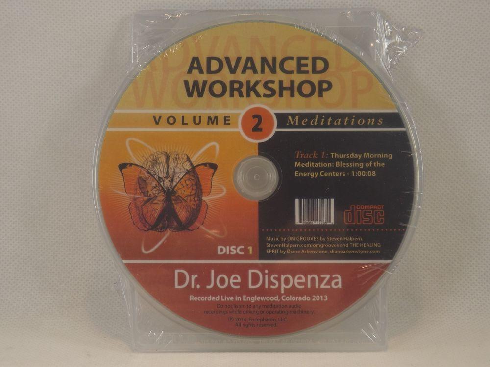 Advanced Workshop Volume 2 Meditations Dr  Joe Dispenza
