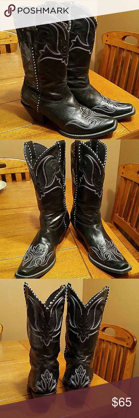 Spotted while shopping on Poshmark: ⚘SOLD⚘Durango Womens Leather Boots Size 8m! #poshmark #fashion #shopping #style #Durango #Shoes