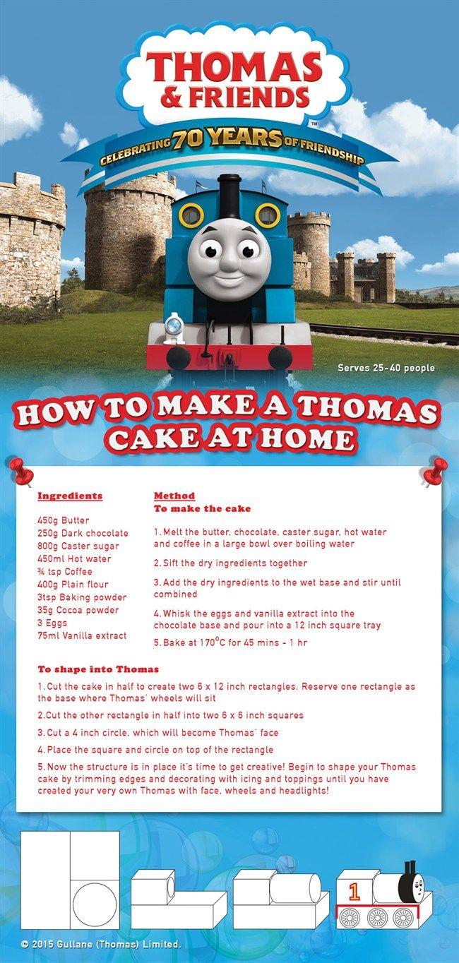 Thomas the Tank Engine birthday cake | Baking and Desserts ...