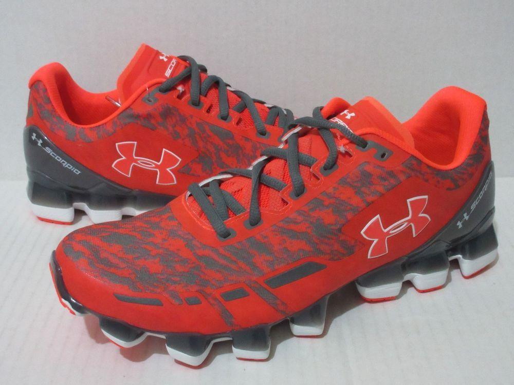 74bd9ca0a0 Under Armour Scorpio Running Shoe Men's Sz.10.5 Orange/Silver ...