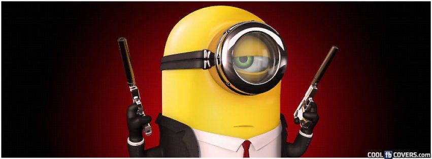 Minion Hitman Cover Facebook Covers - Cool FB Covers - Use ...