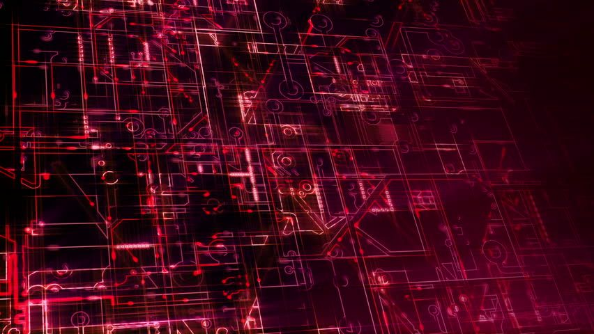 Red Circuit Board Wallpaper 4k - Radio Wiring Diagram •
