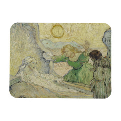 Raising of Lazarus after #Rembrandt by Van Gogh Flexible #Magnets #vangogh