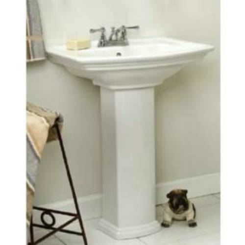 Barclay 3 398 Washington 550 Series 8 Widespread White Pedestal
