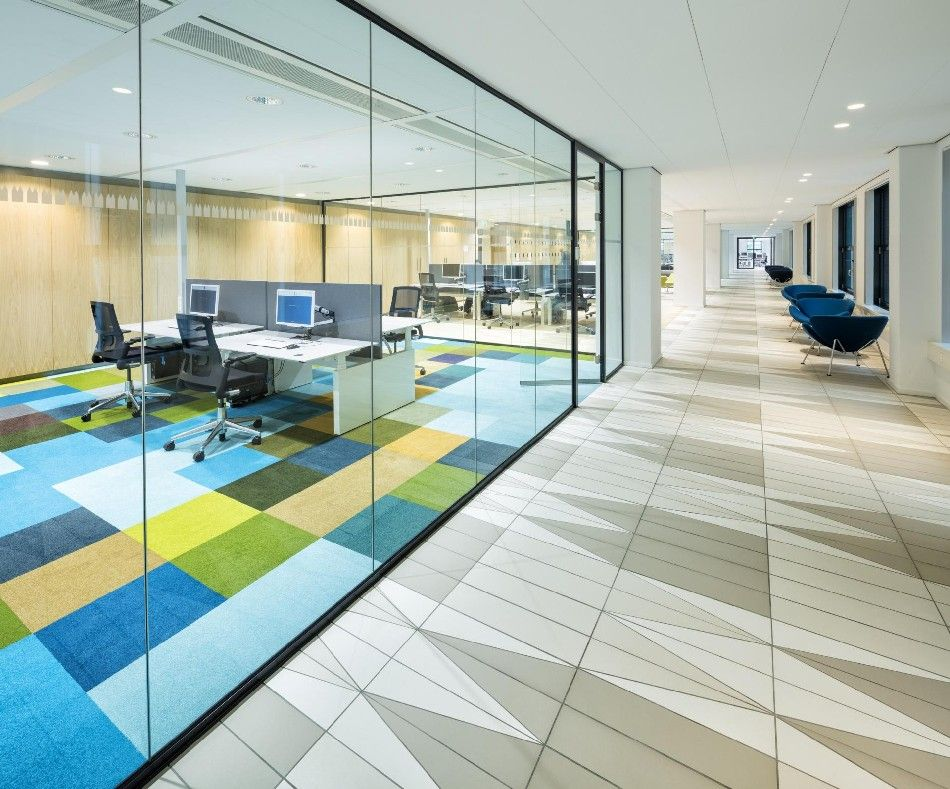 Master Painters Inspire Ministry Office Design in
