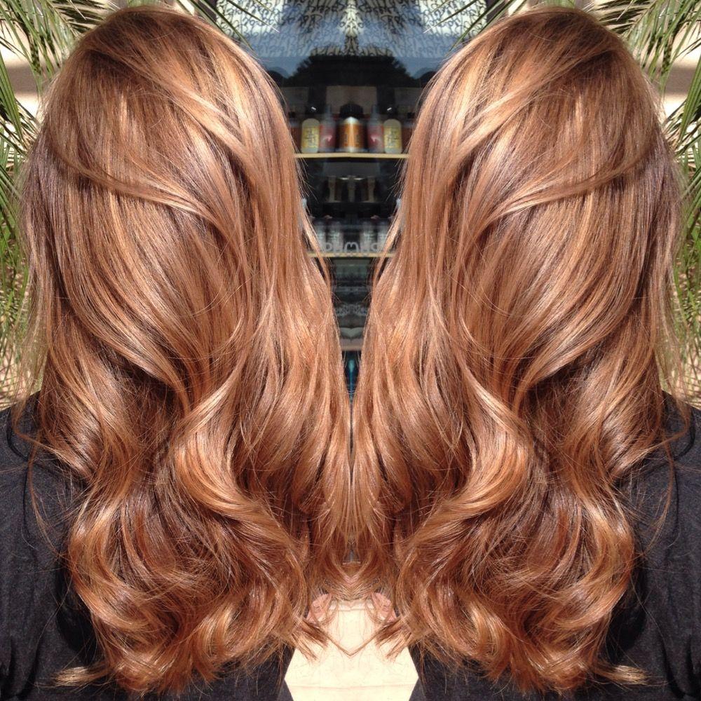 How To Sweet Caramel Frisuren Haarfarben Karamell Haarfarbe