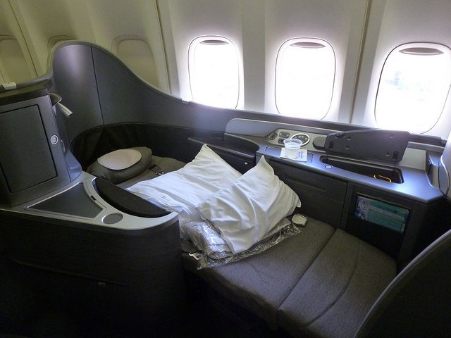 United Airlines Boeing 747 400 First Class Seat