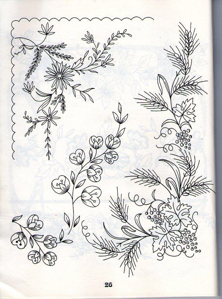 Домашняя коллекция №5.Вышивка ришелье | buenos de cama | Pinterest ...