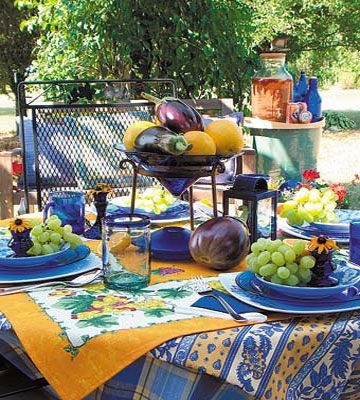 Outdoor Party Ideas For An Summer Tablescape