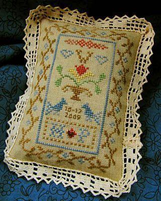 - 123Stitch.com  – 123Stitch.com – 123Stitch.com perfect for ring pillow Pet...