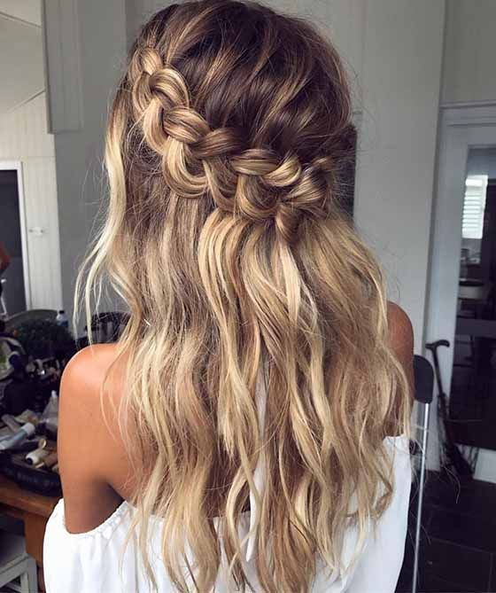 15 Easy Hairstyles For Long Thick Hair To Make You Want Short Hair Long Hair Styles Hair Styles Braids For Long Hair