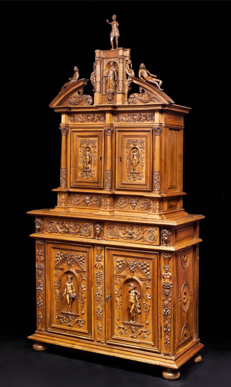 French Cabinet Renaissance Period 16th Century 1stdibs Com Baroque Furniture Renaissance Furniture Gothic Furniture