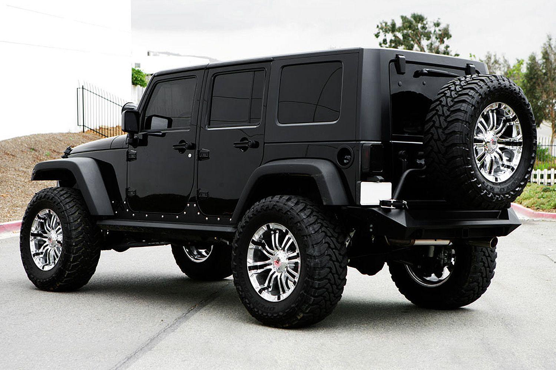 RBP® 94R Chrome with Black Inserts Black wheels jeep