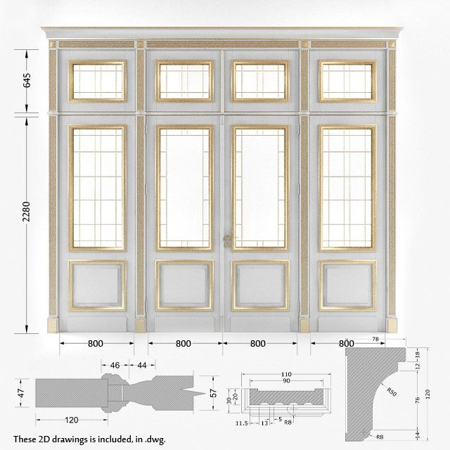 Door V Ray Classic Max Classic Doors French Doors French Doors Interior