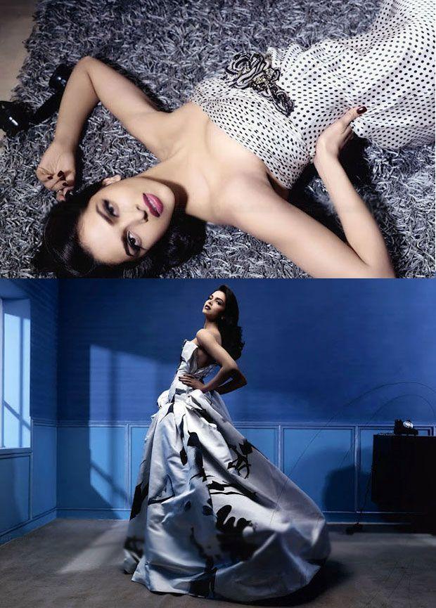 Deepika Padukone Vogue Magazine Hot Photos | Deepika