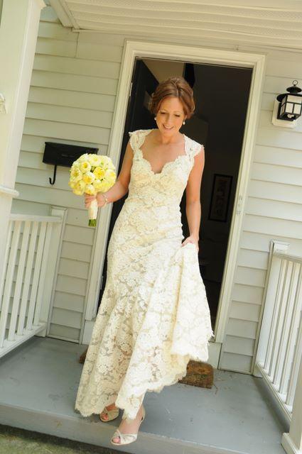 New Monique Lhuillier Scarlet Wedding Dress | Size: 2 ...