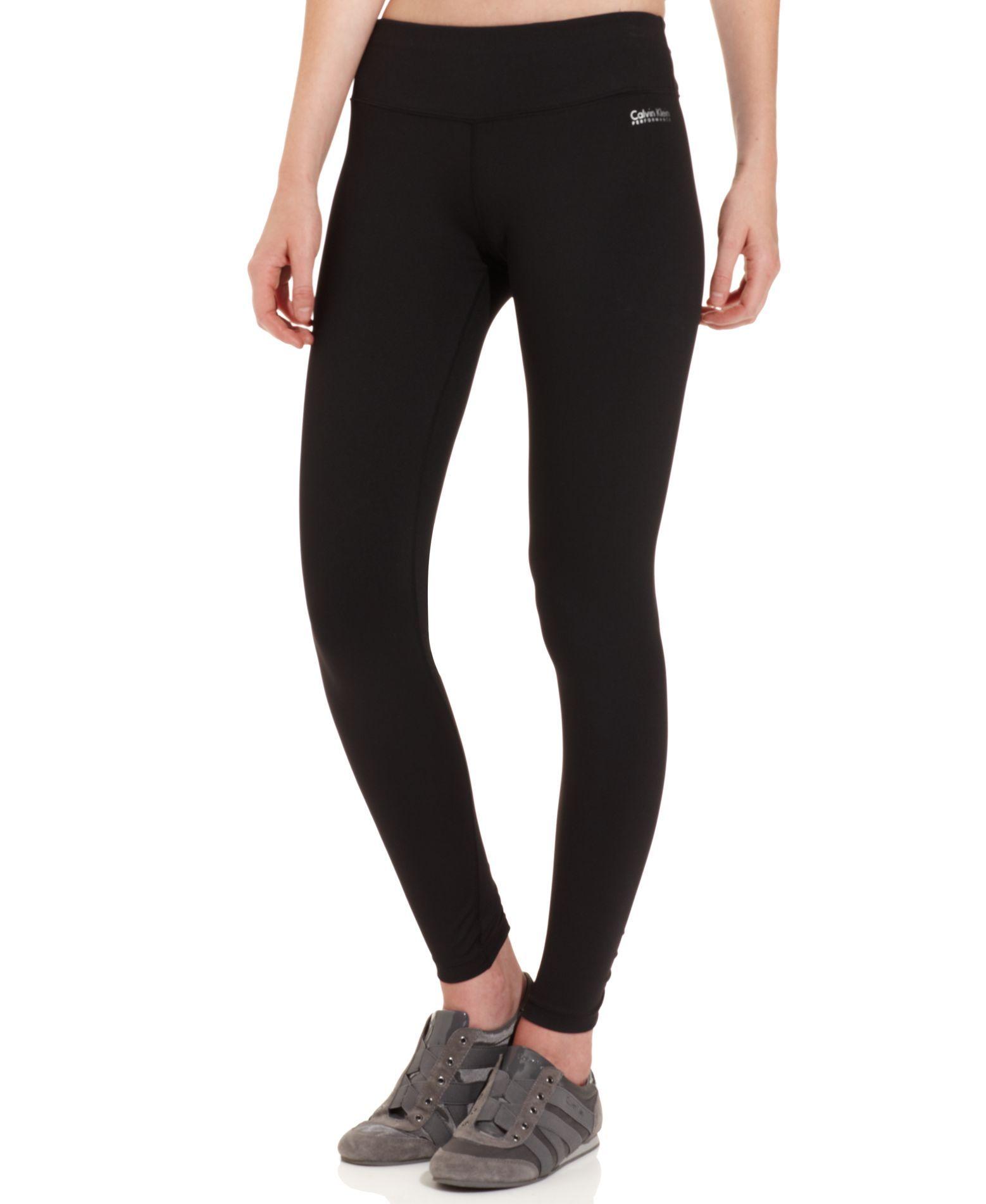 2fb01bbf5c02 Calvin Klein Performance Pants, Skinny Active Leggings - Activewear - Women  - Macy's