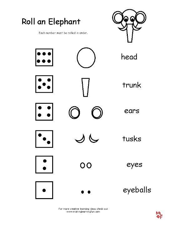 Super fun animal dice drawing activity for daisy meeting to go with ...