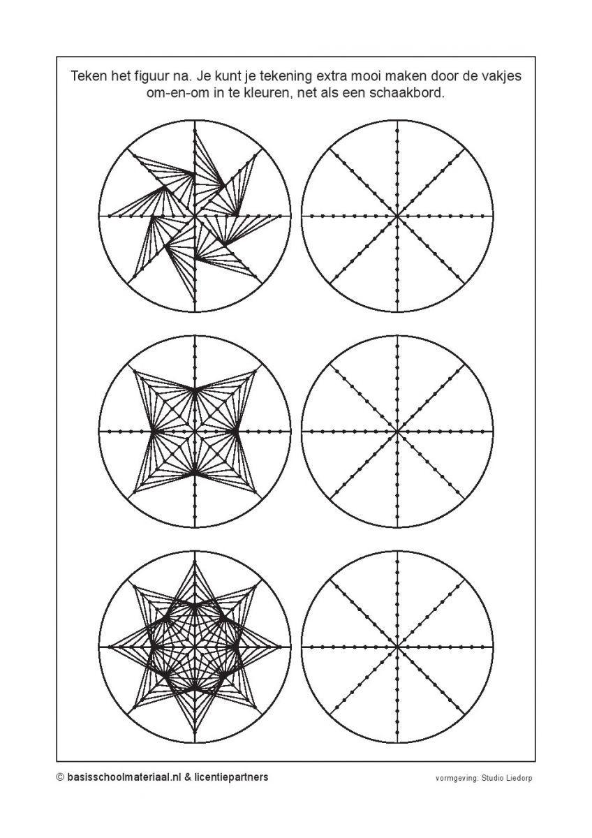 Teken het figuur na extra werk pinterest raumwahrnehmung geometrie en mathe - Fadenkunst vorlagen ...
