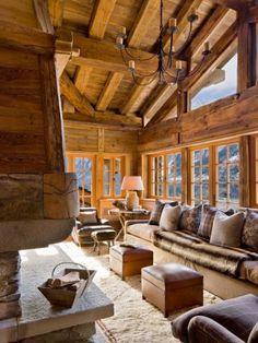 Chalet Mobel Ambiance Chalet Cabin Home Et Cabin Homes