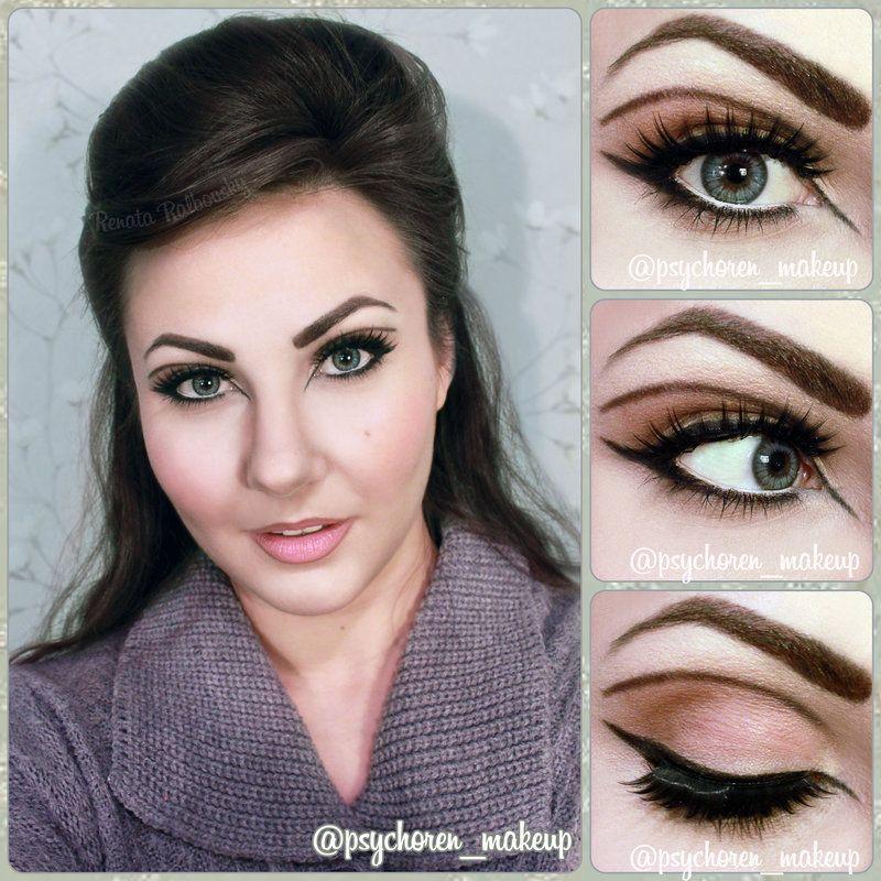 Black dress hair and makeup like prisilla