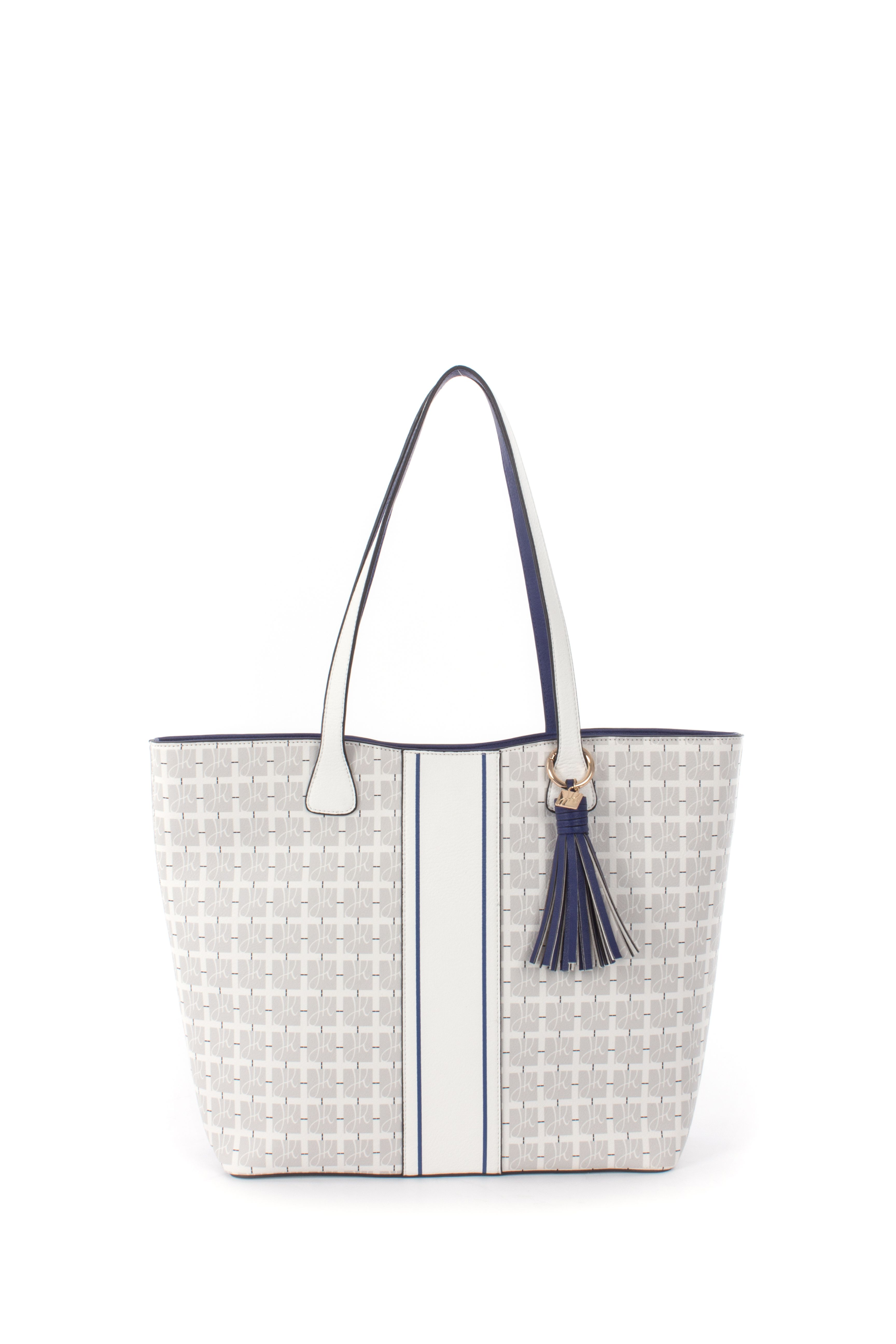267338c2a5d Collection Kanata: Tote color white and blue, style 191961 ...