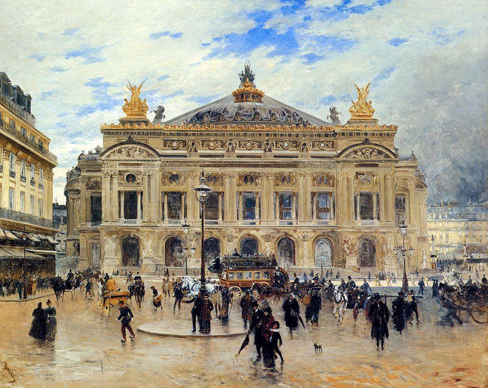 Гранд опера париж вышивка